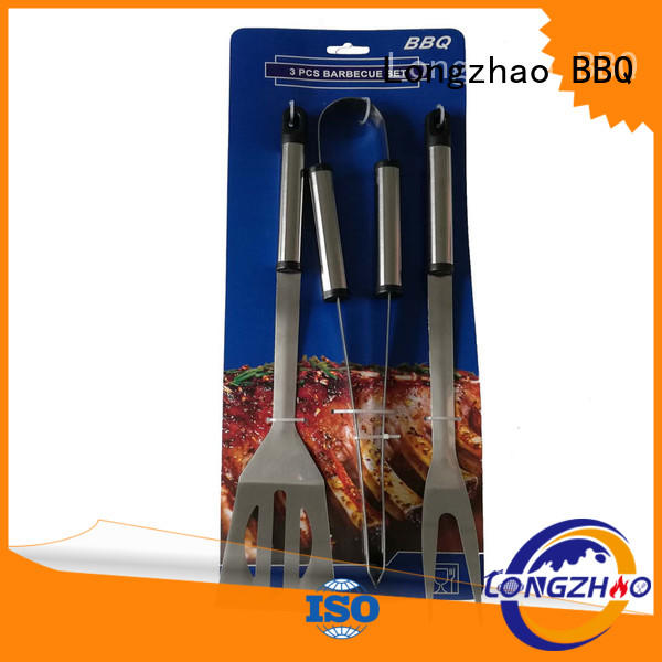 Longzhao BBQ pvc bbq grill tool set inquire now for outdoor camping
