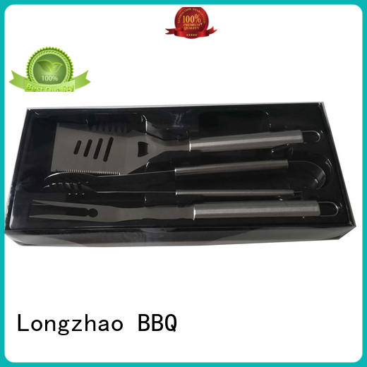 Longzhao BBQ portable bbq grill tool set order now for outdoor camping