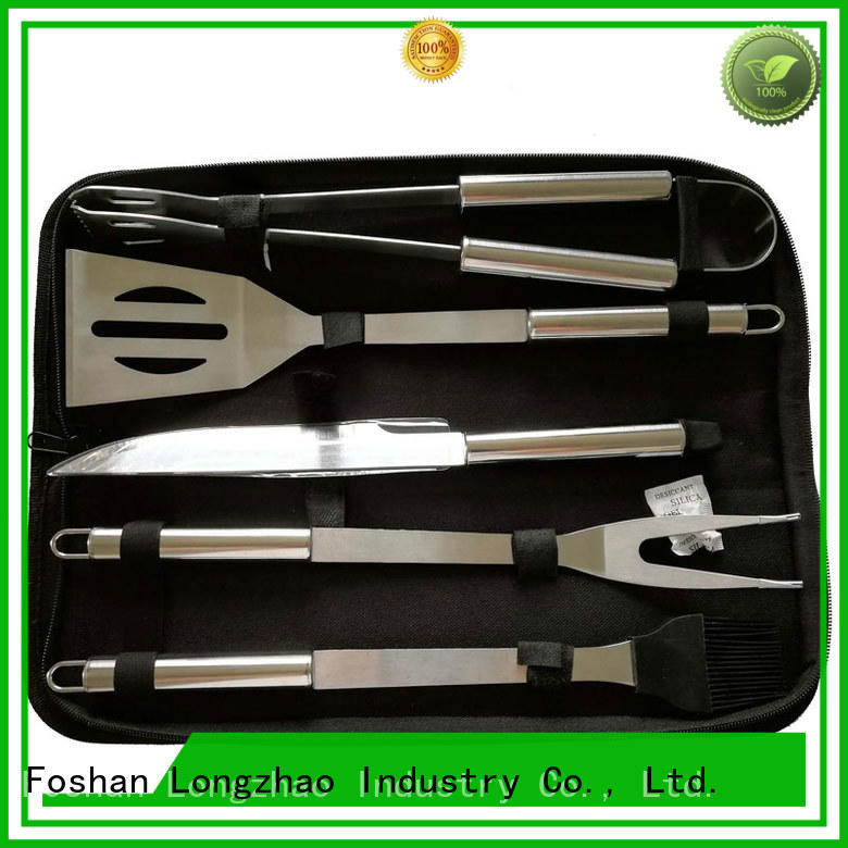 stainless steel bbq grill tool set hot-sale for gatherings