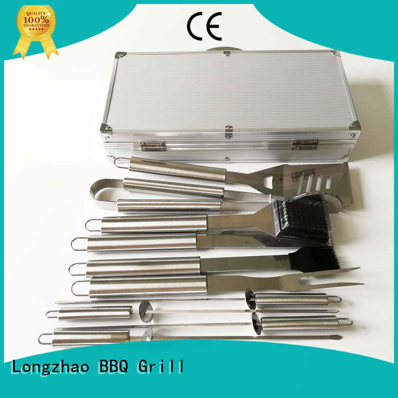 folding grillbasket manufacturer direct selling hot sale Longzhao BBQ Brand company