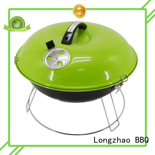 Longzhao BBQ portable charcoal bbq grills high quality for barbecue