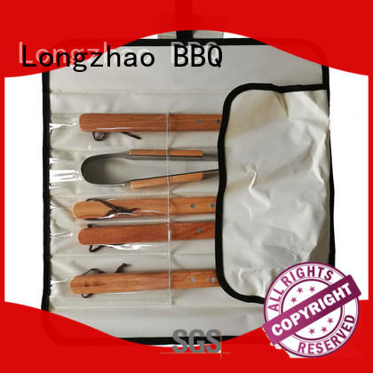 Longzhao BBQ heat resistance bbq grill tool set bag for barbecue
