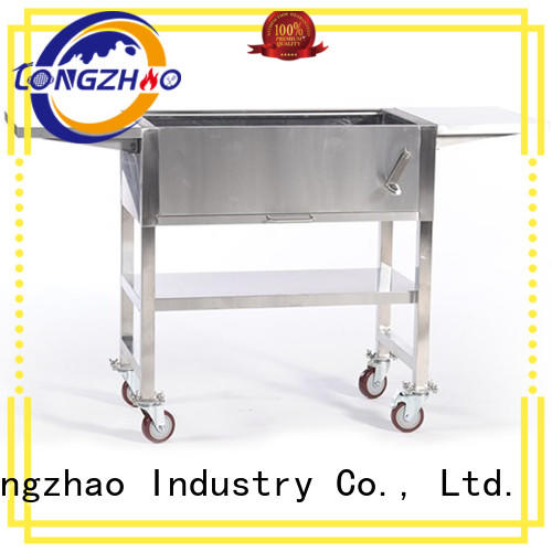 Longzhao BBQ unique stainless steel bbq grill on sale smoker for outdoor cooking