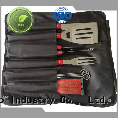 Longzhao BBQ portable bbq grill tool set custom for gatherings