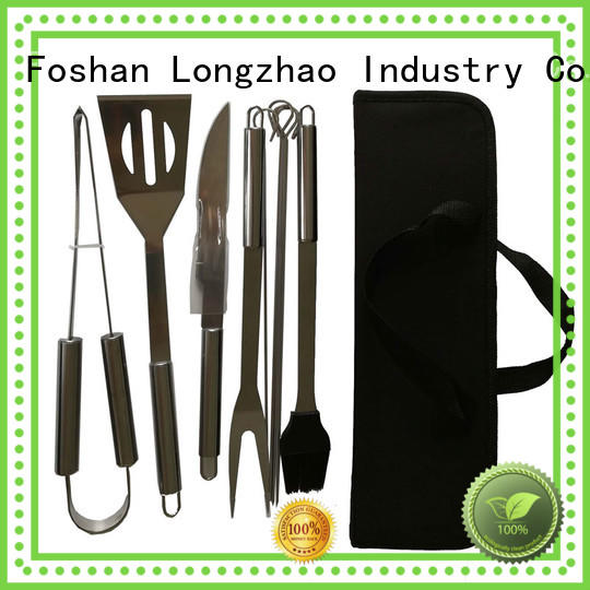 Longzhao BBQ high quality folding grill basket factory price for gatherings