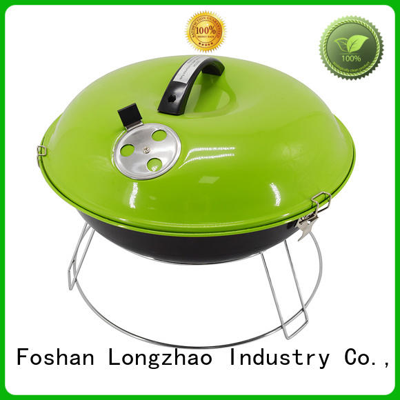 Longzhao BBQ round metal bbq charcoal grills on sale bulk supply for barbecue