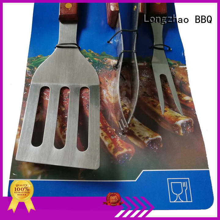 bbq grill basket best quality for outdoor camping Longzhao BBQ
