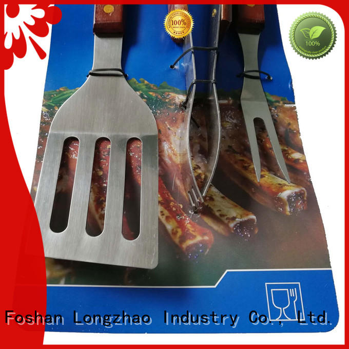 Longzhao BBQ bbq grill tool set custom for charcoal grill