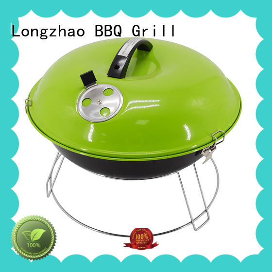 Longzhao BBQ instant round bbq grills for outdoor bbq