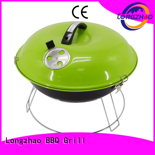 Longzhao BBQ light-weight charcoal barbecue grills factory direct supply for barbecue