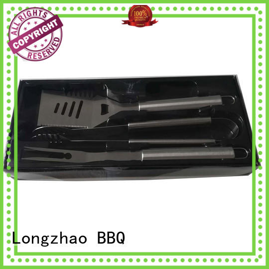 Longzhao BBQ low price bbq grill tool set free sample for charcoal grill