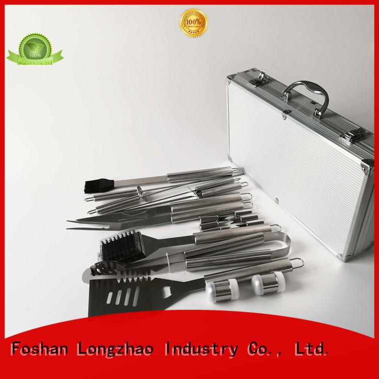 folding grill basket low price factory direct bbq grill basket Longzhao BBQ Brand