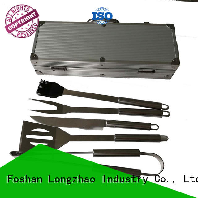 side tables bbq grill tool set by bulk for charcoal grill Longzhao BBQ