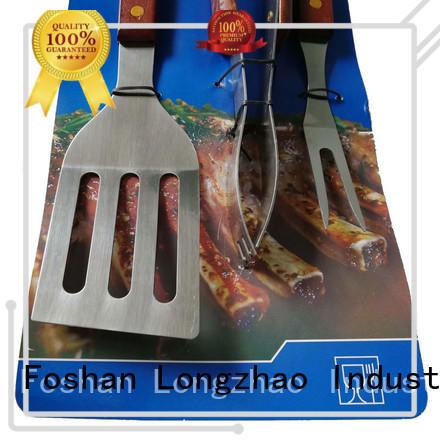 high quality side Longzhao BBQ Brand bbq grill basket