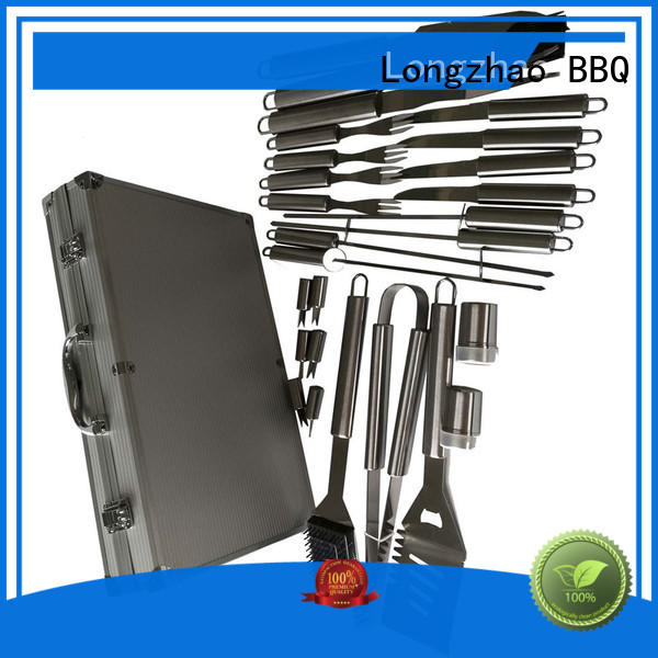 barbecue tool set for outdoor camping Longzhao BBQ