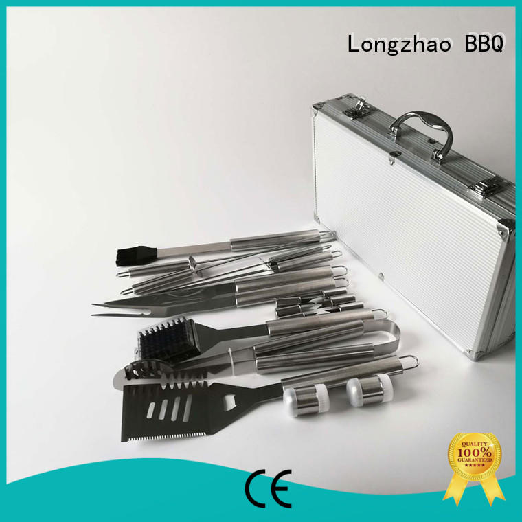 gas folding wholesale folding grill basket Longzhao BBQ manufacture