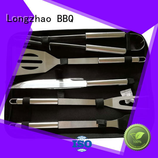 high quality grill basket fish recipe factory price for barbecue Longzhao BBQ