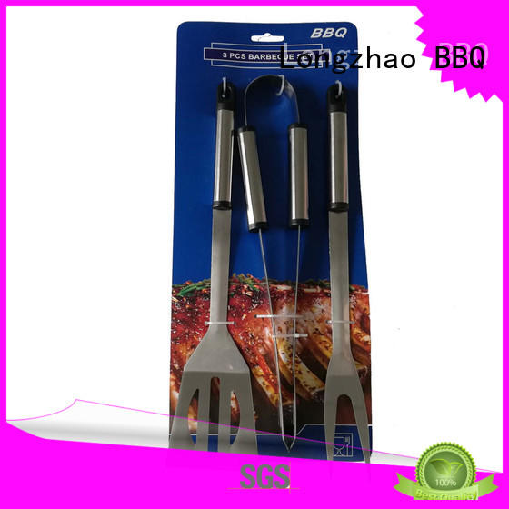 Longzhao BBQ stainless steel grilling equipment best price for gas grill