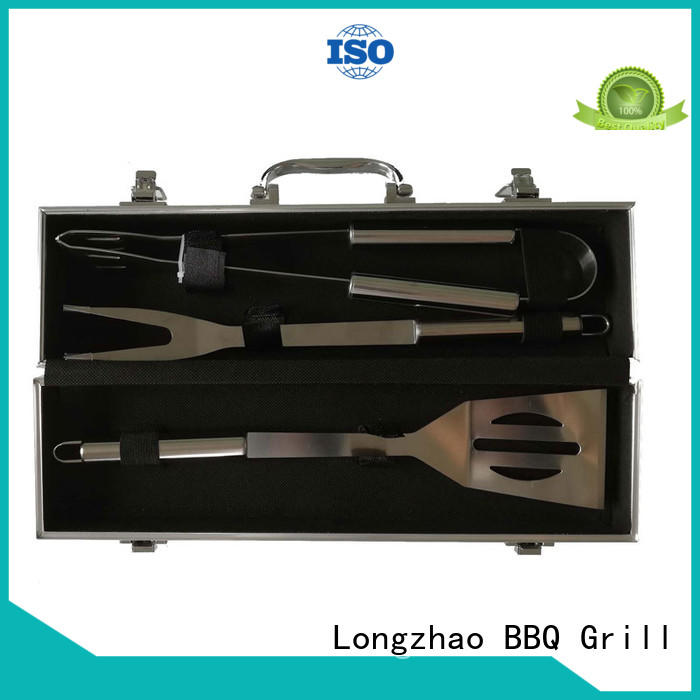 Longzhao BBQ stainless steel bbq grill basket best price for outdoor camping
