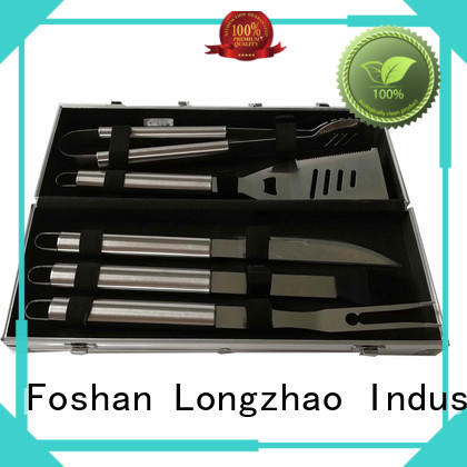 Longzhao BBQ Brand portable bbq grill basket side factory