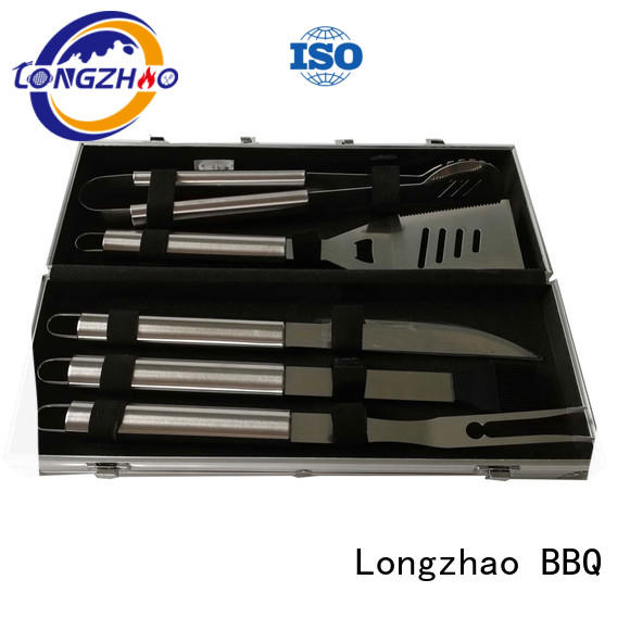 bbq grill tool set bag for gas grill Longzhao BBQ