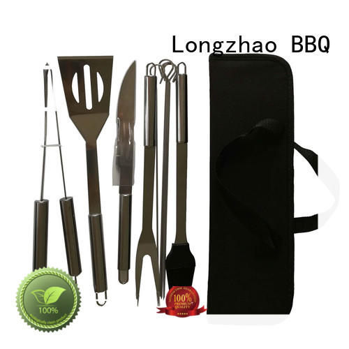 portable grill Longzhao BBQ Brand folding grillbasket