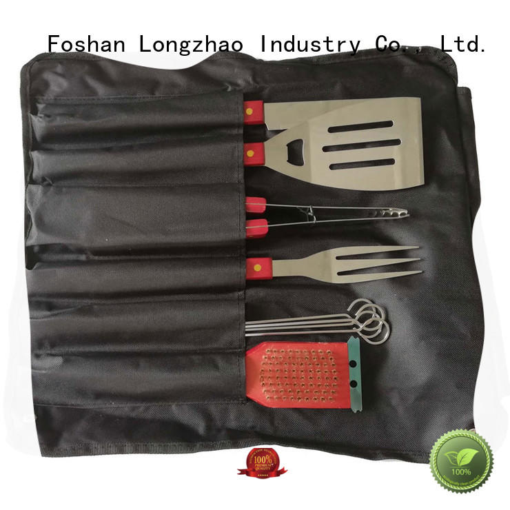 handle carried folding grill basket for charcoal grill Longzhao BBQ