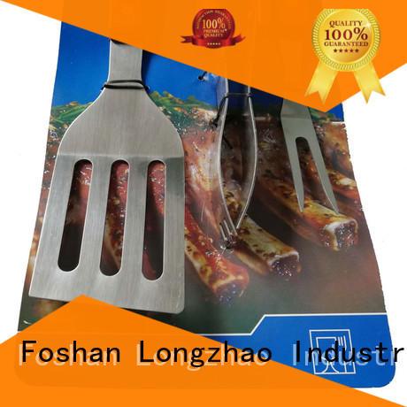 Hot folding grillbasket low price Longzhao BBQ Brand