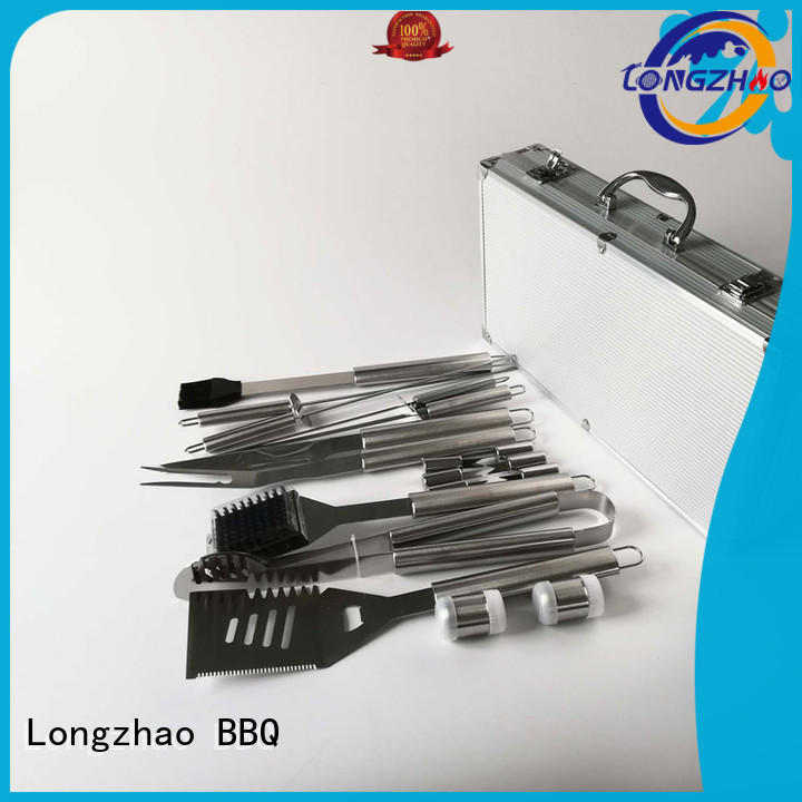 Longzhao BBQ barbecue tool set inquire now for outdoor camping