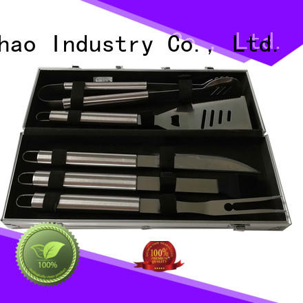 gas portable outdoor Longzhao BBQ Brand folding grill basket manufacture