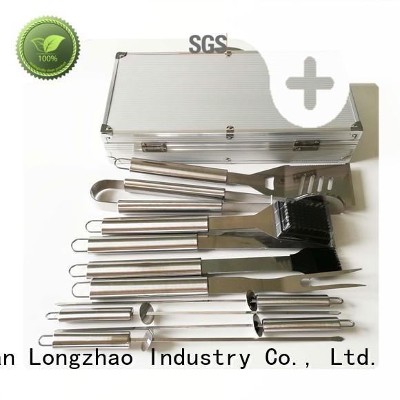 grill basket for shrimp aluminum Longzhao BBQ
