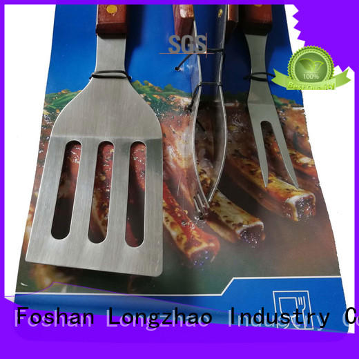 Longzhao BBQ low price bbq grill tool set side tables for charcoal grill