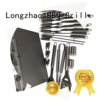 Longzhao BBQ stainless steel bbq kit custom