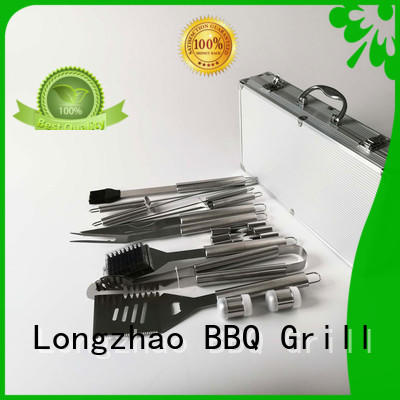 Longzhao BBQ grill tool sets hot-sale for gatherings