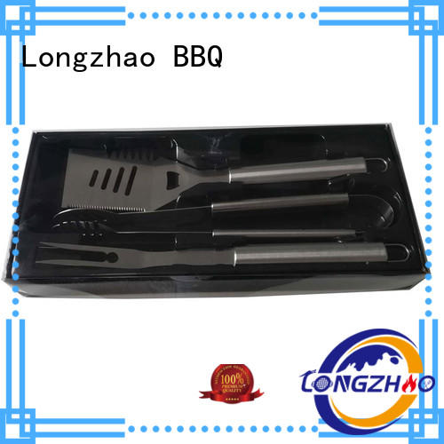 Longzhao BBQ Brand portable low price liquid gas grill hot selling factory