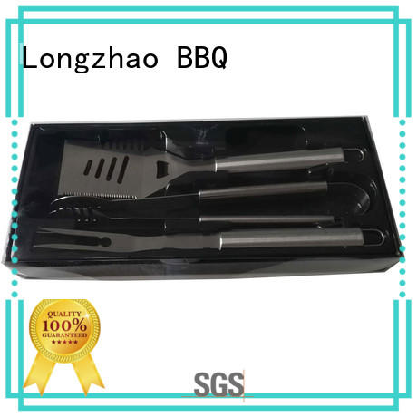 Longzhao BBQ stainless steel barbecue tool set order now for gatherings