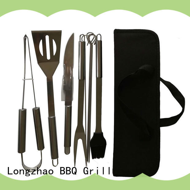 Longzhao BBQ low price bbq grill basket oxford for gas grill