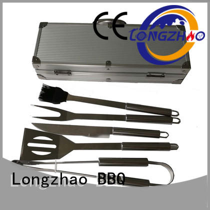 Longzhao BBQ bbq grilling set hot-sale for charcoal grill