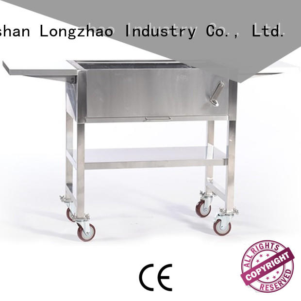 smoker portable barbecue grill inquire now for outdoor cooking Longzhao BBQ