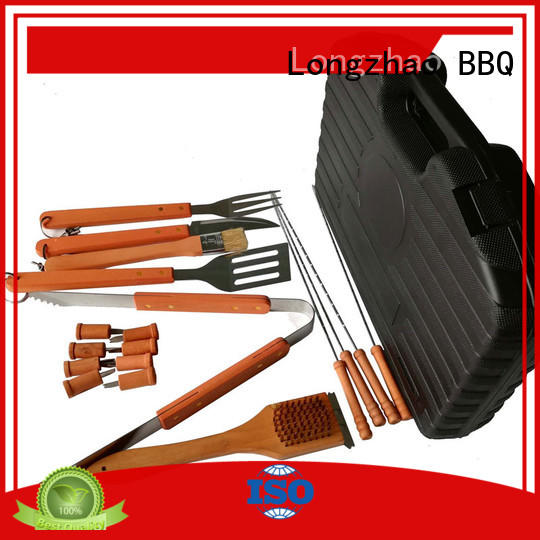 Longzhao BBQ high quality grill basket for shrimp best quality for charcoal grill