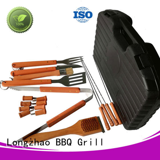 Longzhao BBQ stainless steel bbq grill basket hot-sale for gas grill