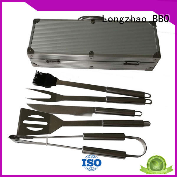 low price hot sale bbq folding grillbasket Longzhao BBQ manufacture