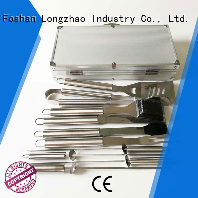 Hot folding grillbasket hot selling Longzhao BBQ Brand
