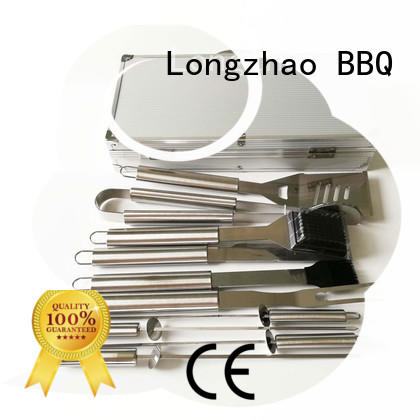 wholesale professional hot selling Longzhao BBQ Brand bbq grill basket