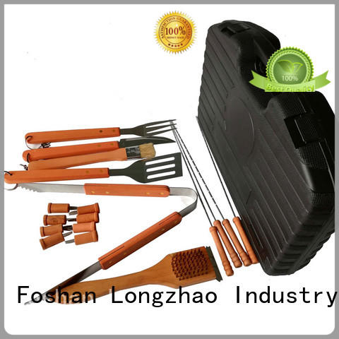 portable best fish grilling basket by bulk for charcoal grill Longzhao BBQ