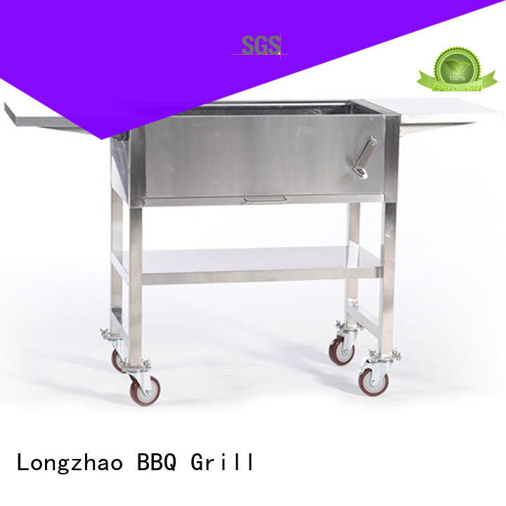 fire stainless steel bbq grill on sale for camping Longzhao BBQ