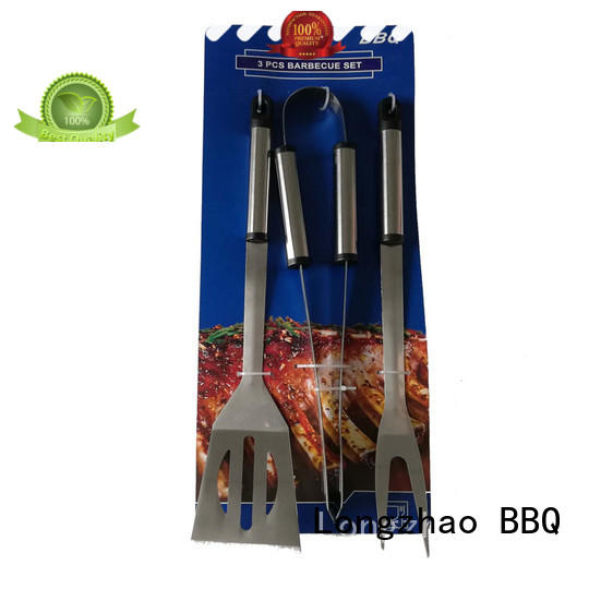 Longzhao BBQ folding bbq fish grill basket aluminum for outdoor camping