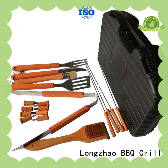 Longzhao BBQ folding grill utensil set custom