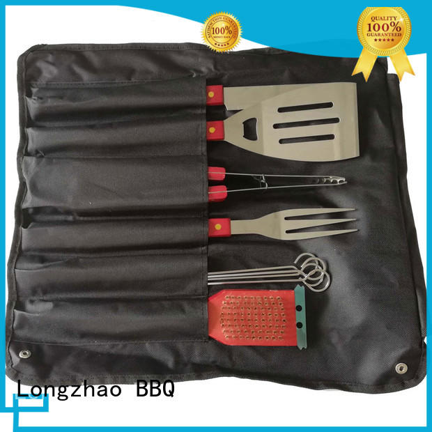 box barbecue tool set side tables for outdoor camping Longzhao BBQ