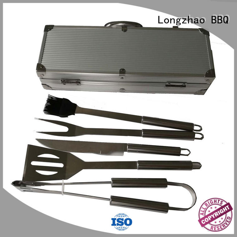 Quality Longzhao BBQ Brand wholesale side bbq grill basket